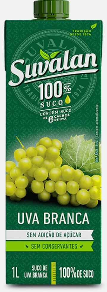 100% Suco-Uva Branca